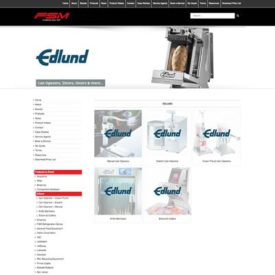 E-Commerce Website Design & Development: Food Service Machinery