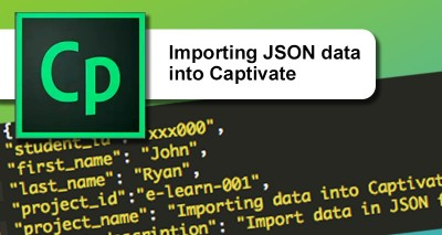Importing data into Captivate