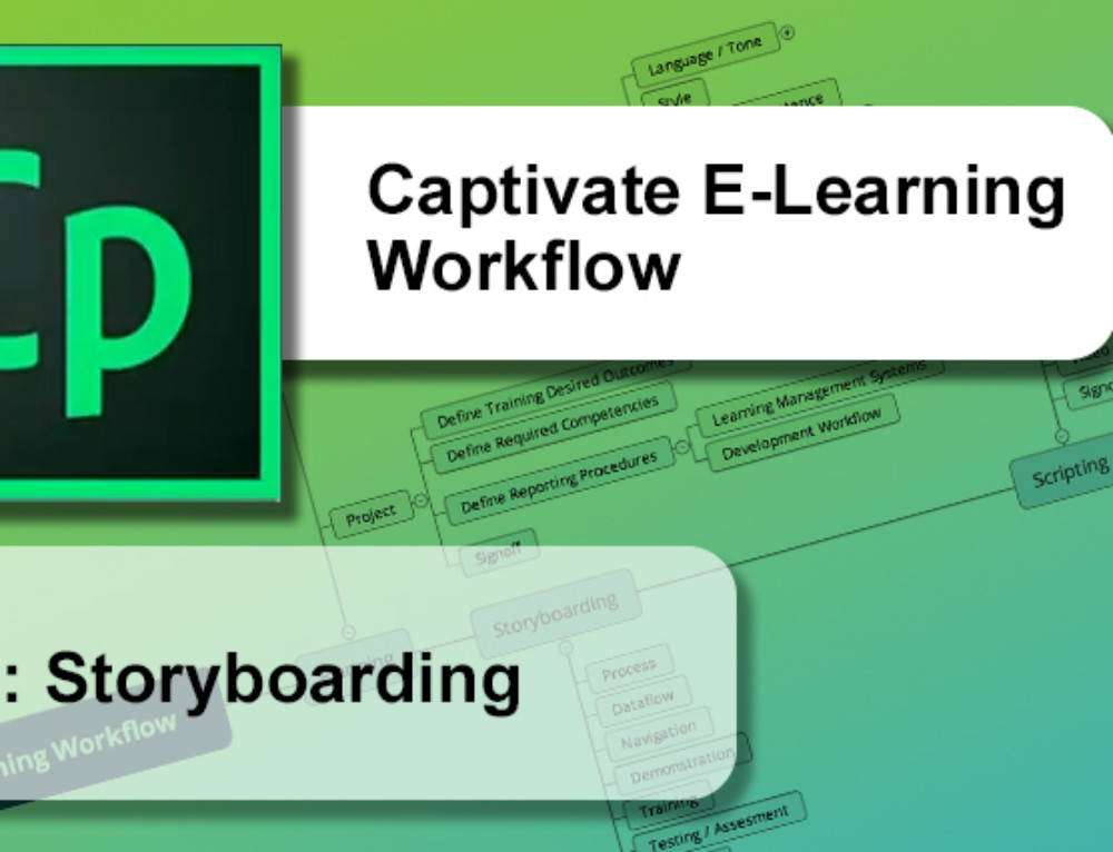 Captivate E-Learning Workflow : Storyboarding