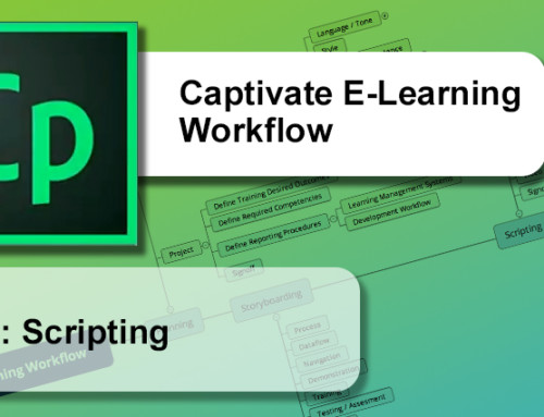 Captivate E-Learning Workflow : Scripting