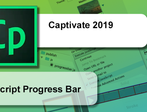 Captivate progress bar using Javascript