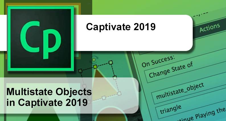 How to use multistate objects in Captivate 2019