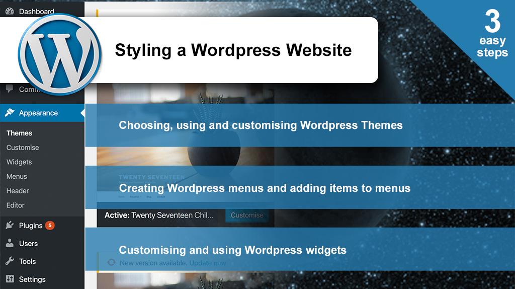 Styling Wordpress