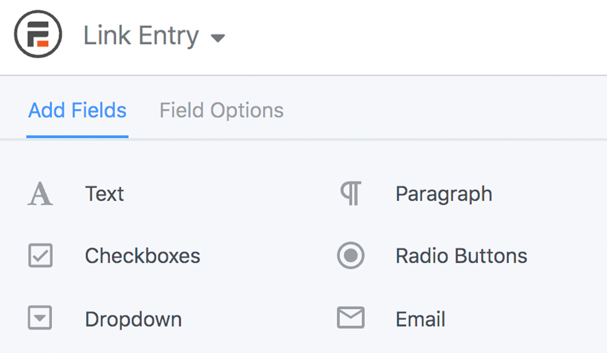 Add form fields
