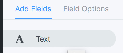Add text field