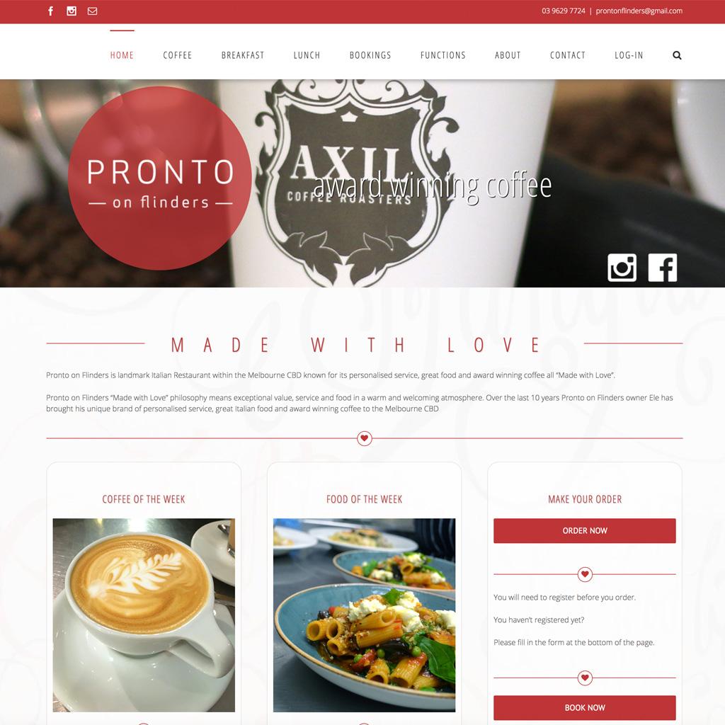 Pronto Website