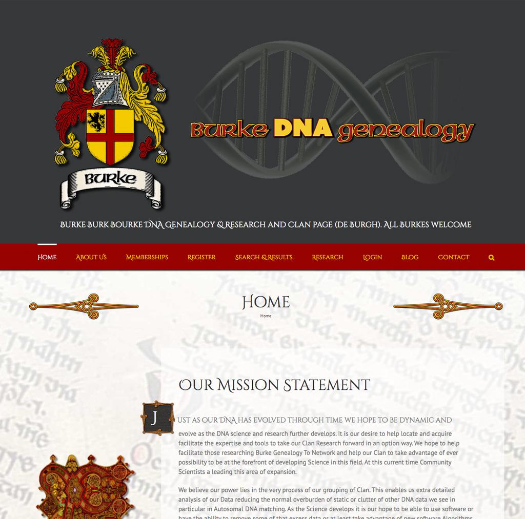 Burke DNA Genealogy