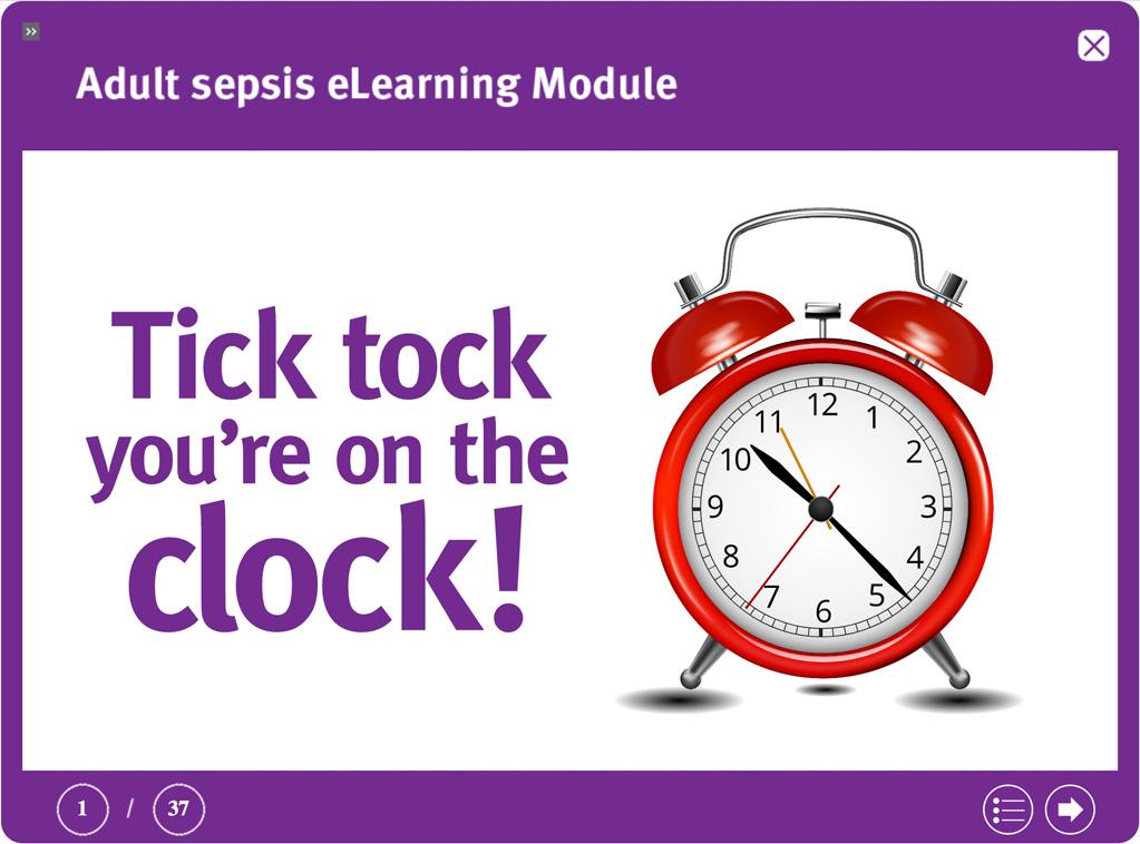 Adult Sepsis E-Learning