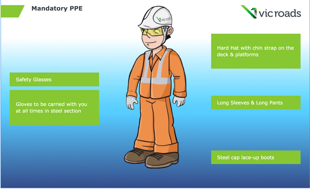 Westgate Bridge Health and Safety e-Learning module